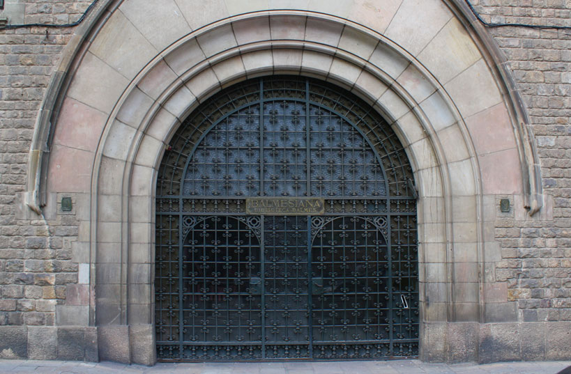 Fundació Balmesiana _ Porta